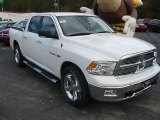 2010 Stone White Dodge Ram 1500 Big Horn Crew Cab #22355497