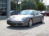 2007 Meteor Grey Metallic Porsche 911 Carrera 4S Coupe #224296