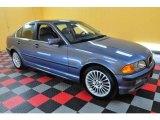 2001 Steel Blue Metallic BMW 3 Series 330i Sedan #22590242