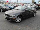2005 Sparkling Graphite Metallic BMW 3 Series 325i Convertible #22544962