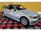 2007 Titanium Silver Metallic BMW 3 Series 328xi Wagon #22590244