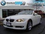 2008 Alpine White BMW 3 Series 335i Convertible #22577840
