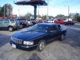 1997 Polo Green Metallic Cadillac DeVille Sedan #22592915