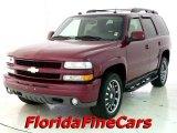 2004 Sport Red Metallic Chevrolet Tahoe Z71 4x4 #22549231