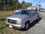 2006 Silver Birch Metallic Chevrolet Silverado 1500 Extended Cab #22592959