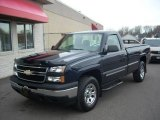 2006 Dark Blue Metallic Chevrolet Silverado 1500 LS Regular Cab 4x4 #22593681