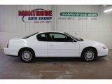 2000 Chevrolet Monte Carlo Bright White