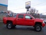 2010 Victory Red Chevrolet Silverado 1500 LT Crew Cab 4x4 #22546375