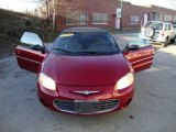 2002 Dark Garnet Red Pearl Chrysler Sebring LX Convertible #22564556