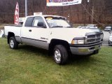 1999 Bright White Dodge Ram 1500 SLT Extended Cab 4x4 #22575303