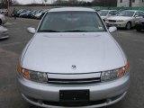 2001 Bright Silver Saturn L Series L200 Sedan #22584628
