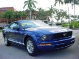2006 Vista Blue Metallic Ford Mustang V6 Premium Convertible #2253674