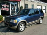 2003 True Blue Metallic Ford Explorer Eddie Bauer 4x4 #22588957