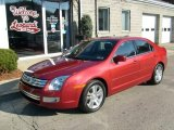 2008 Redfire Metallic Ford Fusion SEL #22588958