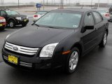 2008 Dark Blue Ink Metallic Ford Fusion SE V6 #2253974