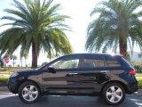 2008 Nighthawk Black Pearl Acura RDX  #2251644