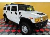 2003 White Hummer H2 SUV #22558476