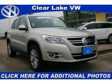 2009 Volkswagen Tiguan White Gold Metallic