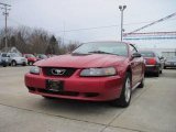 2002 Laser Red Metallic Ford Mustang V6 Coupe #22593694