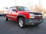 2005 Victory Red Chevrolet Silverado 1500 Z71 Crew Cab 4x4 #22552836