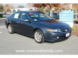 2008 Carbon Gray Pearl Acura TSX Sedan #22673235