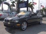 2004 Jet Black BMW 3 Series 330i Convertible #22674093