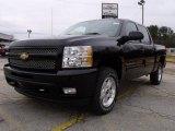 2010 Black Chevrolet Silverado 1500 LT Crew Cab #22687239