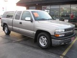 2000 Light Pewter Metallic Chevrolet Silverado 1500 LS Extended Cab #22685505