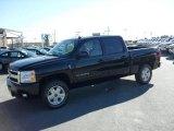 2009 Black Chevrolet Silverado 1500 LT Z71 Crew Cab 4x4 #22696016