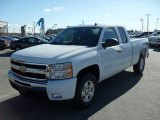 2009 Summit White Chevrolet Silverado 1500 LT Extended Cab #22696018