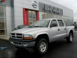 2003 Bright Silver Metallic Dodge Dakota Sport Quad Cab 4x4 #22695833