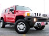 2009 Victory Red Hummer H3  #22675800