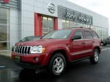 2006 Inferno Red Crystal Pearl Jeep Grand Cherokee Limited 4x4 #22695834