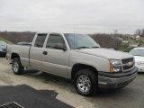 2005 Sandstone Metallic Chevrolet Silverado 1500 LS Extended Cab 4x4 #22681391