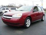 2005 Sport Red Metallic Chevrolet Malibu Maxx LS Wagon #22673725