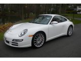 2008 Carrara White Porsche 911 Carrera 4S Coupe #22677570