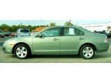 2009 Moss Green Metallic Ford Fusion SE #22596337