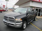 2010 Brilliant Black Crystal Pearl Dodge Ram 3500 Big Horn Edition Crew Cab 4x4 #22692768