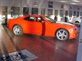 2010 Inferno Orange Metallic Chevrolet Camaro SS Coupe #22559221