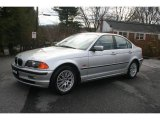2000 Titanium Silver Metallic BMW 3 Series 328i Sedan #22770354