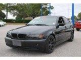 2002 Jet Black BMW 3 Series 325i Sedan #22764031
