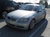 2008 Titanium Silver Metallic BMW 3 Series 335i Sedan #22771873