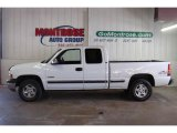 2002 Summit White Chevrolet Silverado 1500 LS Extended Cab 4x4 #22777904
