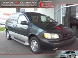 1998 Dark Green Metallic Toyota Sienna XLE #22773103