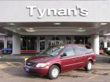 2003 Deep Molten Red Pearl Chrysler Town & Country LX #22762152