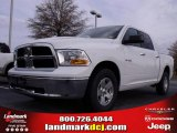 2010 Stone White Dodge Ram 1500 SLT Crew Cab #22765815