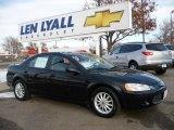 2003 Brilliant Black Crystal Pearl Chrysler Sebring LX Sedan #22763999
