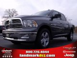 2010 Mineral Gray Metallic Dodge Ram 1500 Big Horn Crew Cab 4x4 #22765813