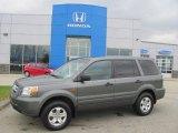 2007 Nimbus Gray Metallic Honda Pilot LX 4WD #22778245