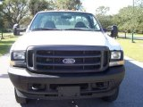 Oxford White Ford F450 Super Duty in 2004